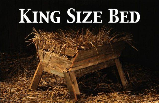 Christmas: birth of earth's king