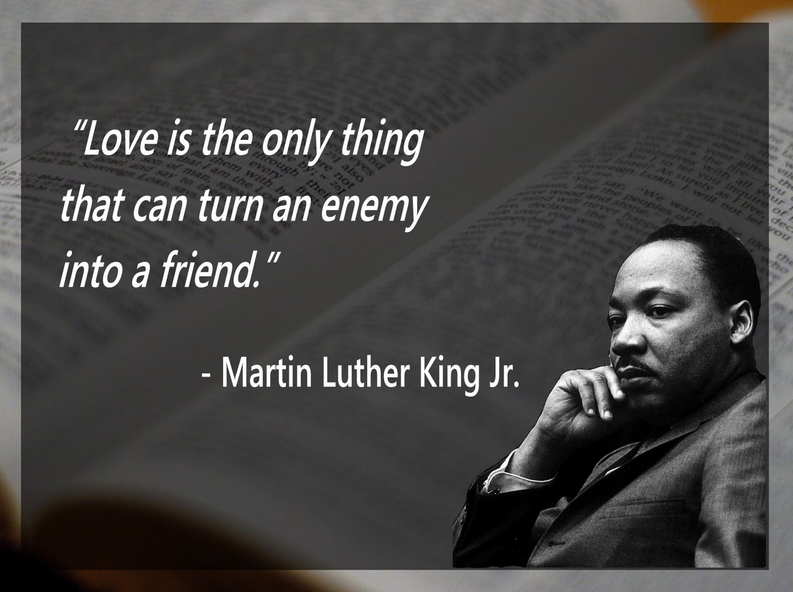 To Love An Enemy