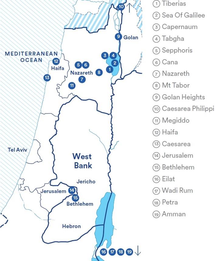 IsraelTour2017_Map