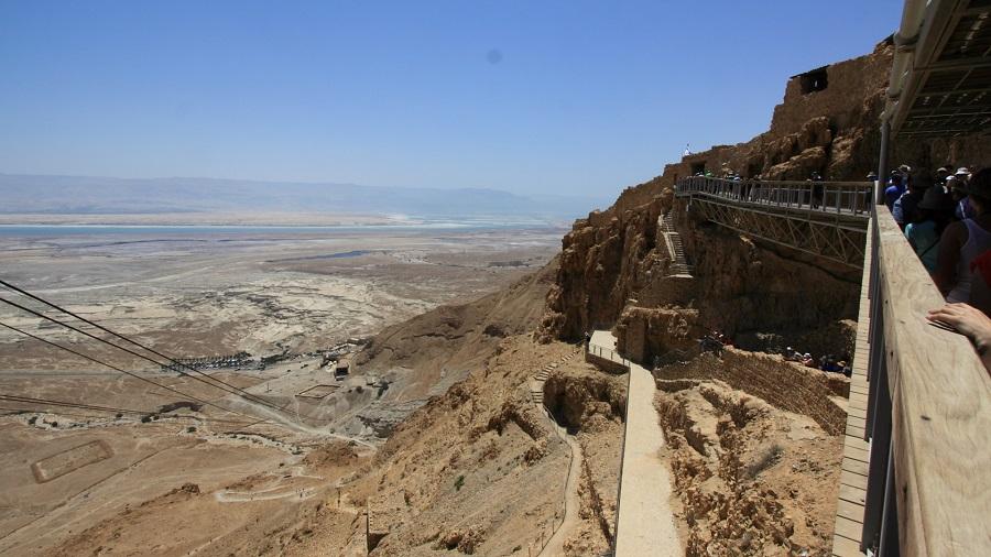 Qumran, Masada, DeadSea