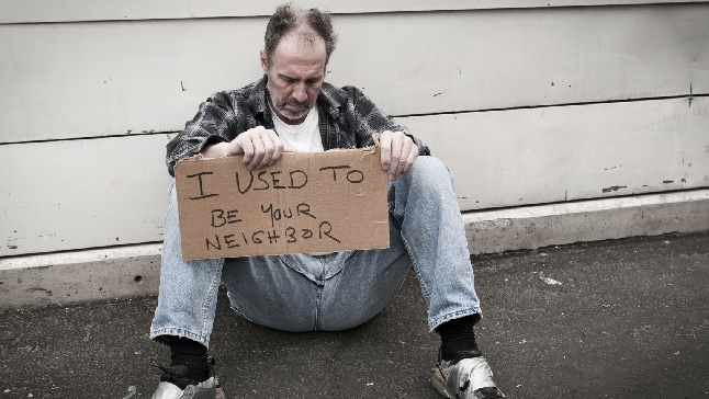 The homeless king (Matthew 8:20)
