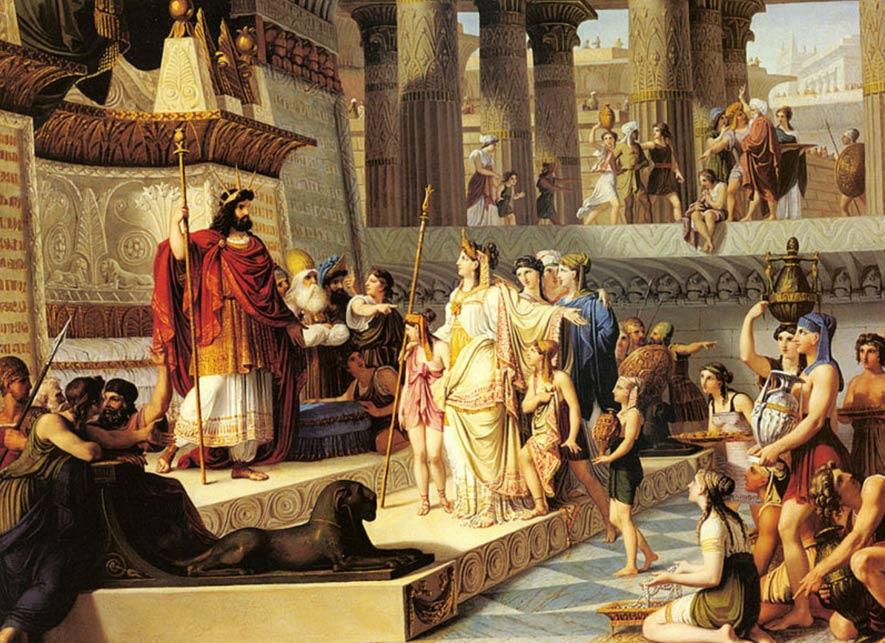 Jesus' most overt kingship claim (Matthew12:42)