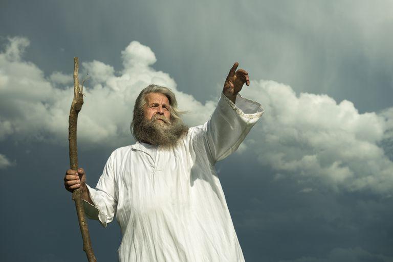 God's spokesman (Exodus4:13-20)