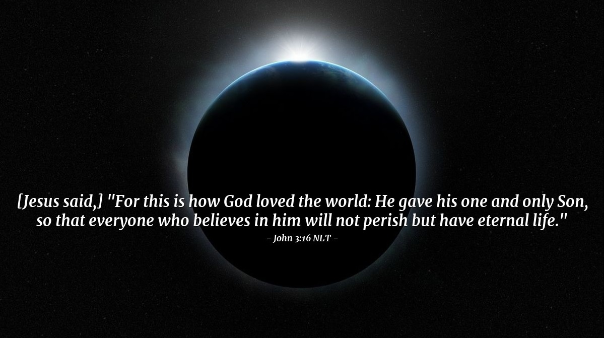 God and his world (John 3:16)
