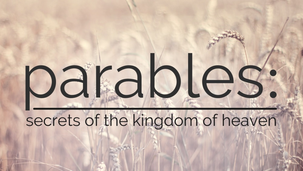 Why parables? Jesus' answer