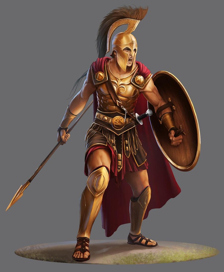 The armour of God (Ephesians6:10-17)
