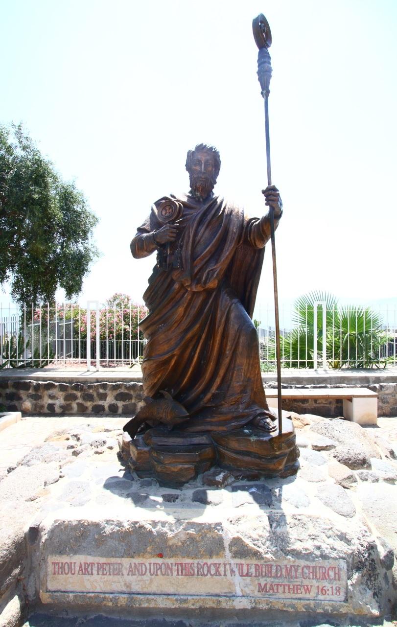 Peter as pope? (Matthew16:18-19)
