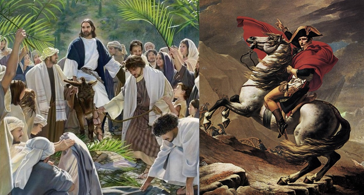 The king who comes in peace (Matthew21:1-9)