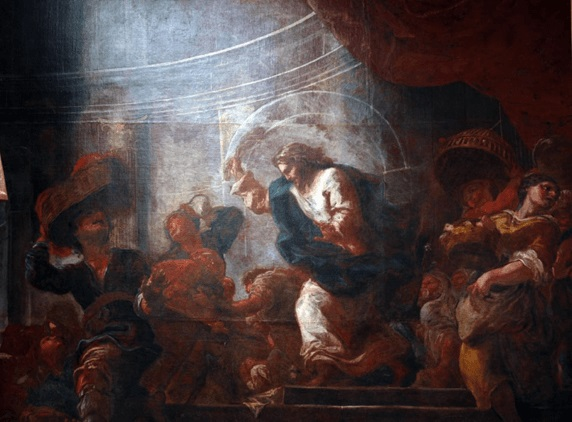 Why did Jesus overturn the temple? (Matthew21:12-13)