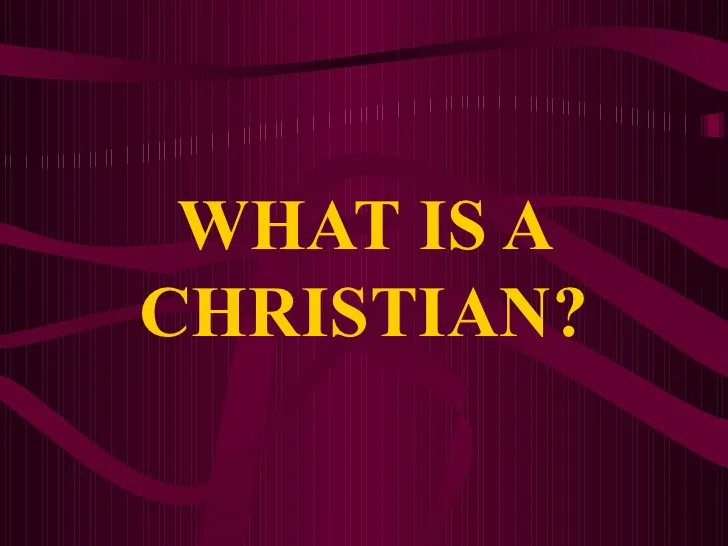 What is a Christian? (podcast) (Romans12:9-21)
